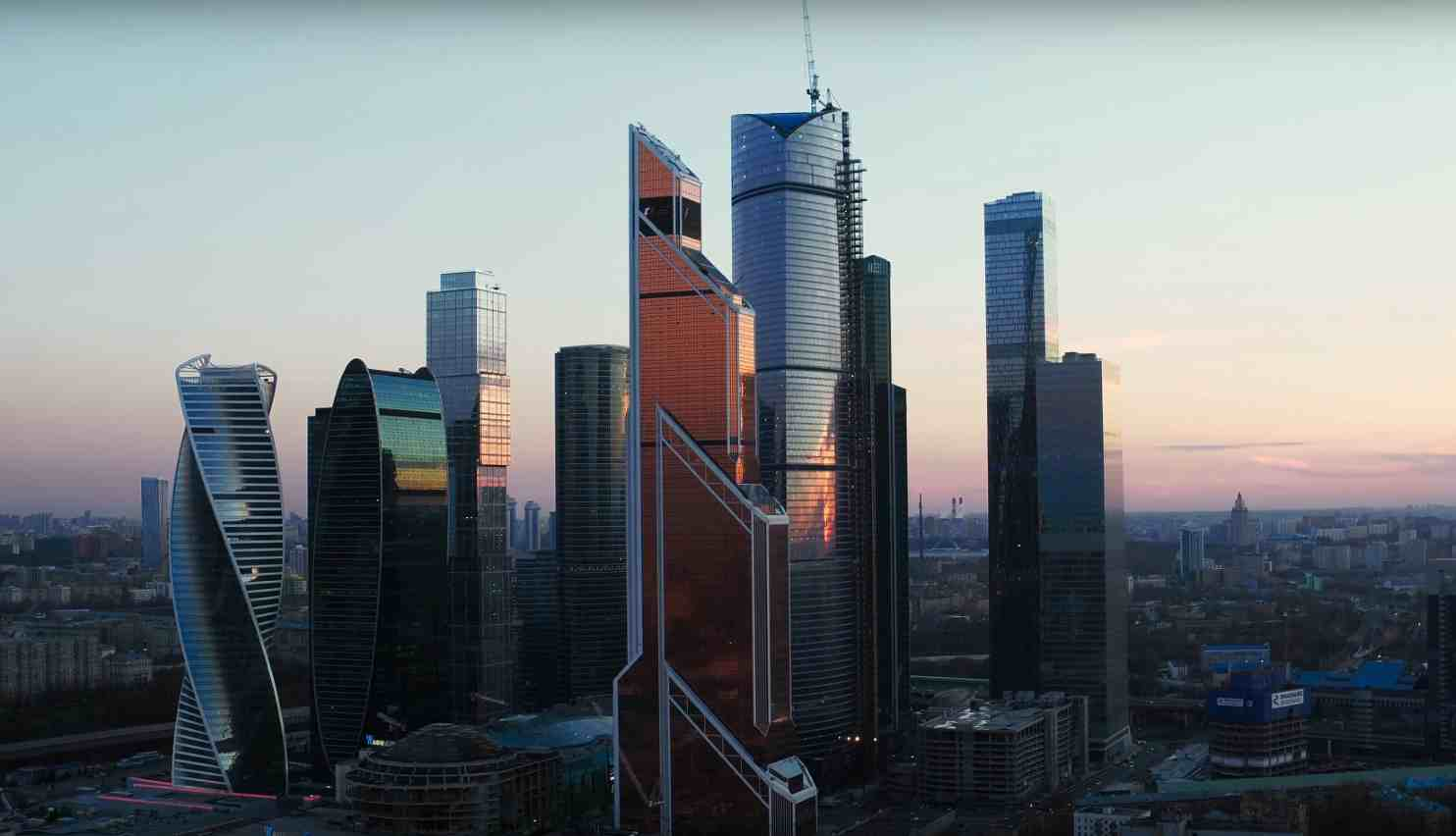 The Moscow Intenational Business Center